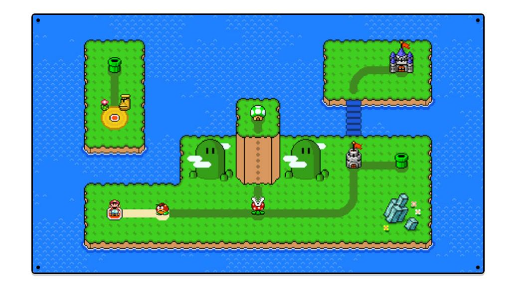 Nintendo presenta un nuevo creador de mundos de Super Mario