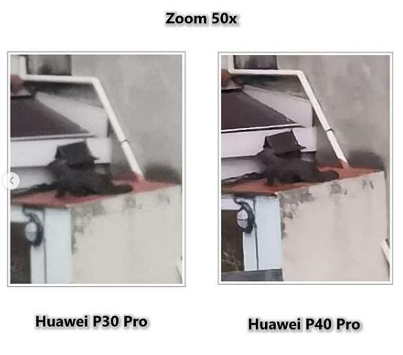 zoom del Huawei P40 Pro