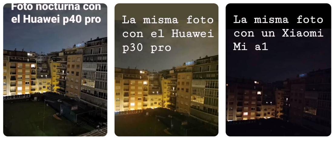 fotos nocturnas Huawei P40 Pro