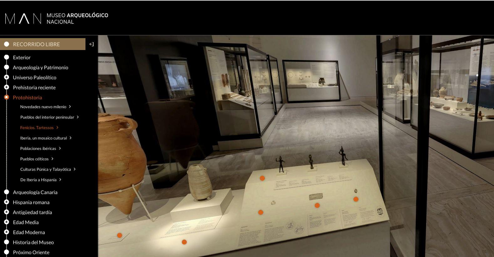 Visita virtual por el Museo Arqueológico Nacional