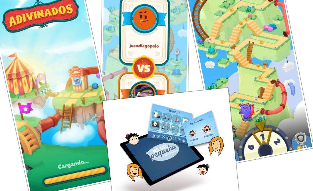 Dos juegos móviles educativos para niños que tienes que conocer