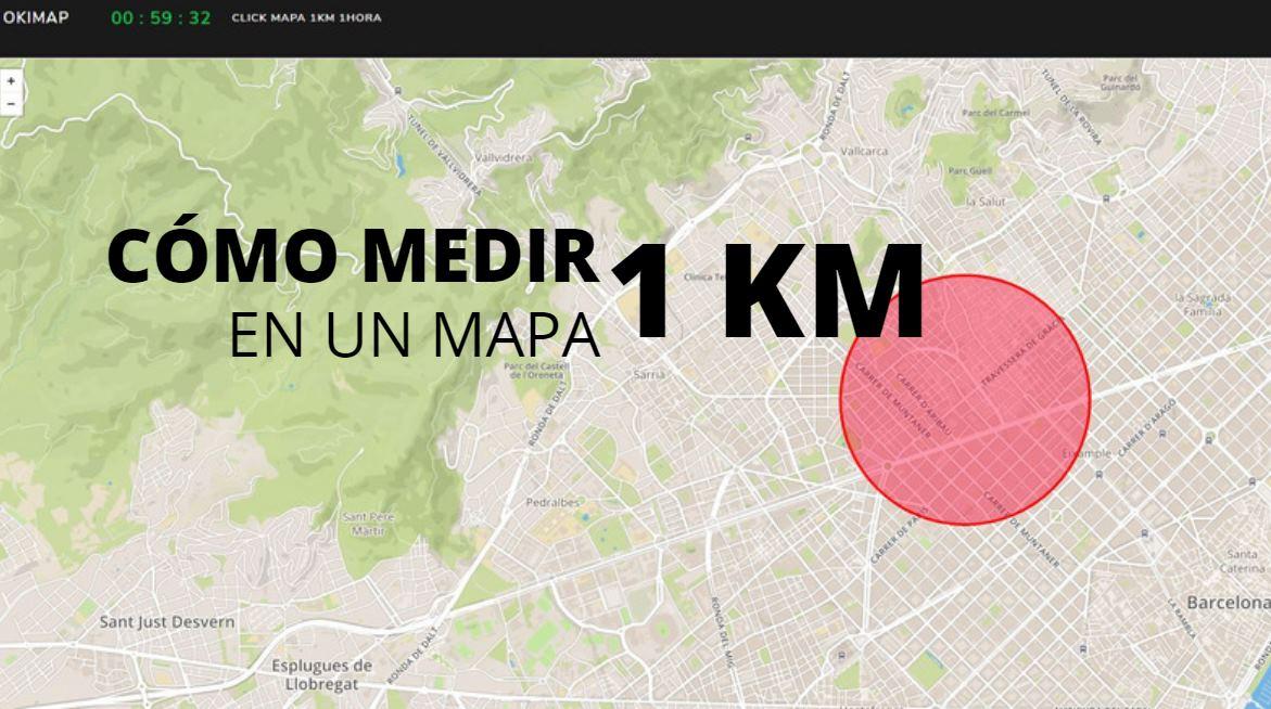 MEDIR 1 KM