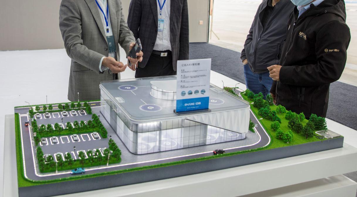 China construirá un aeropuerto para coches autónomos voladores