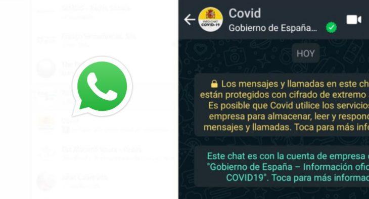 whatsapp covid