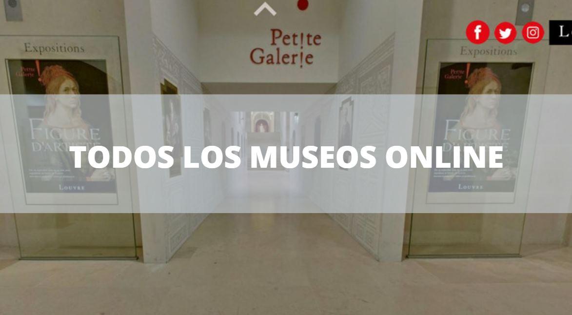 Todos los museos virtuales en una sola web