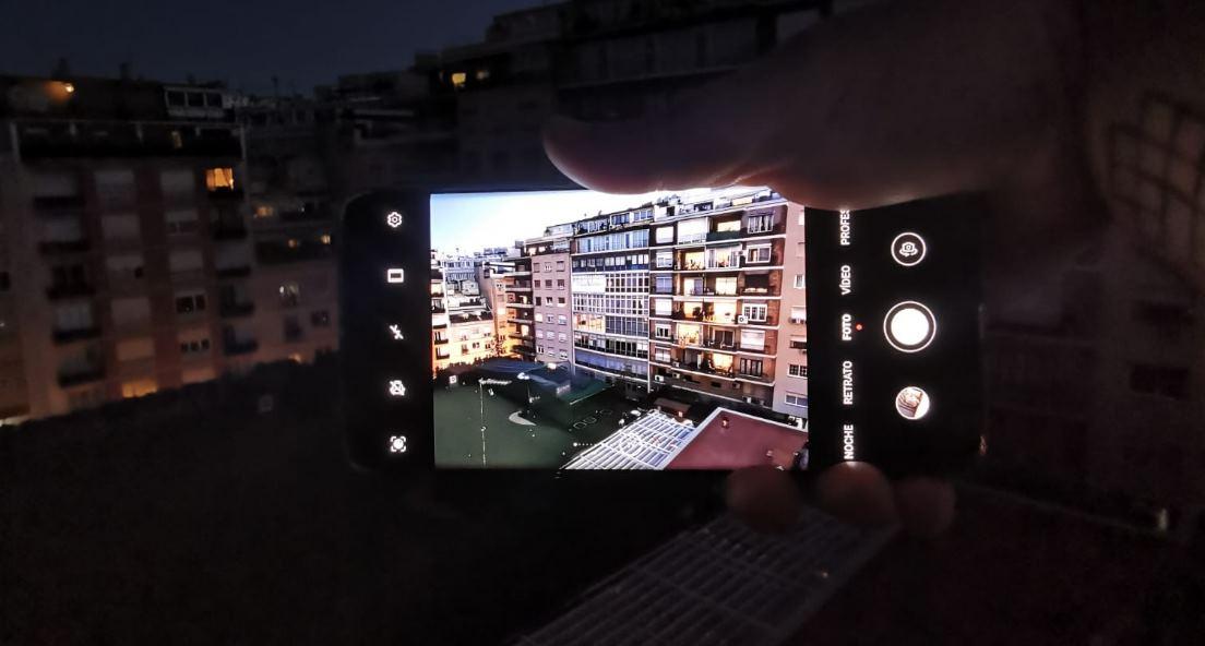 Así es la interfaz de la cámara del Huawei P40 Pro