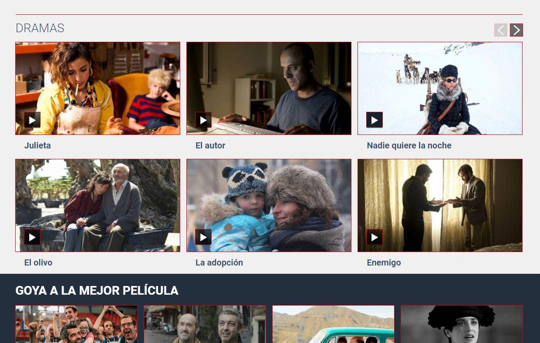 RTVE ofrece 60 películas españolas gratis, sin necesidad de registro
