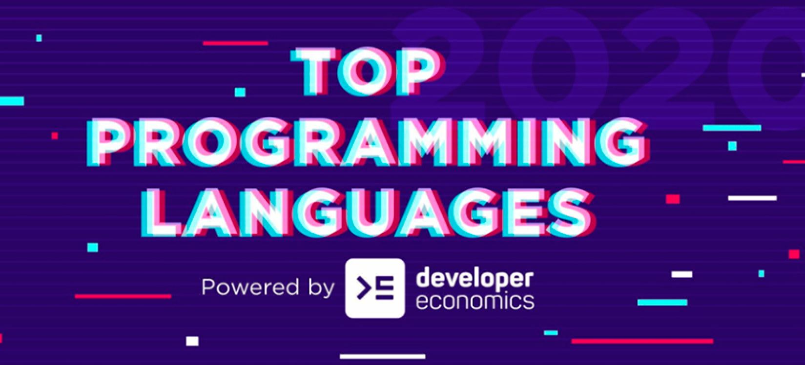 Los lenguajes de programación más usados en 2019, en una infografía