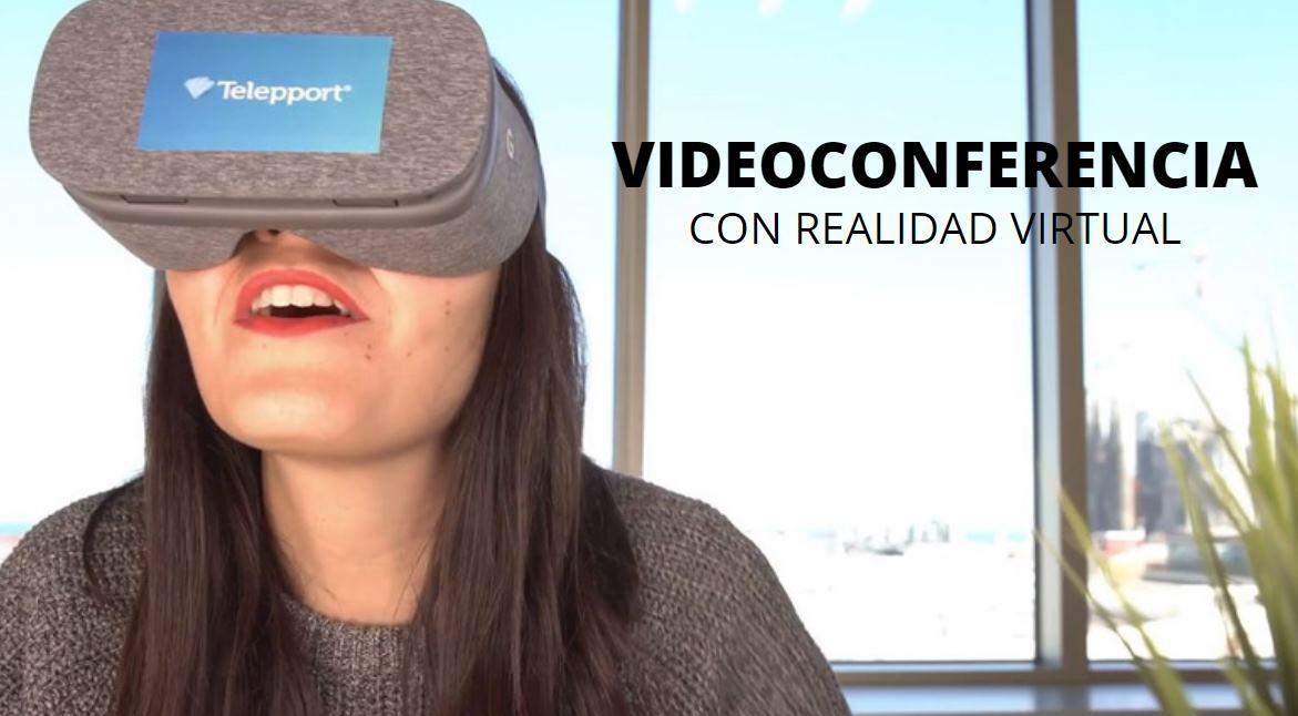 Telepport, Videoconferencia con Realidad Virtual