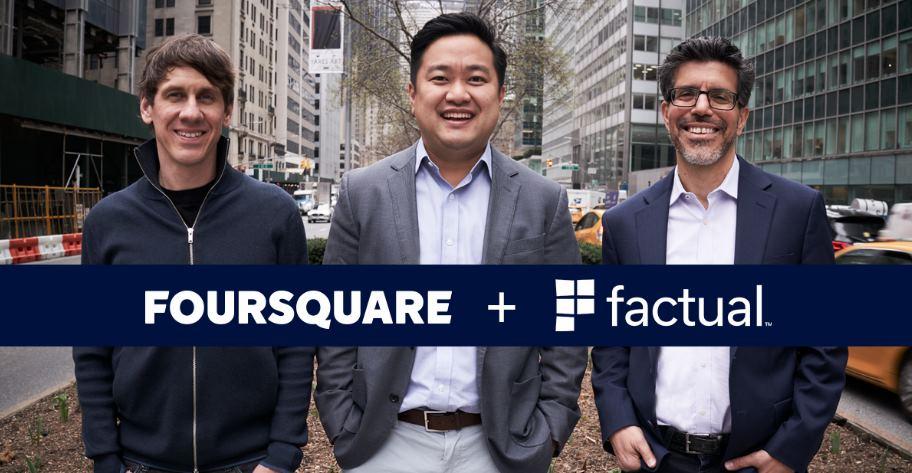 FourSquare se unirá con Factual, sumando 14 mil millones de registros geolocalizados