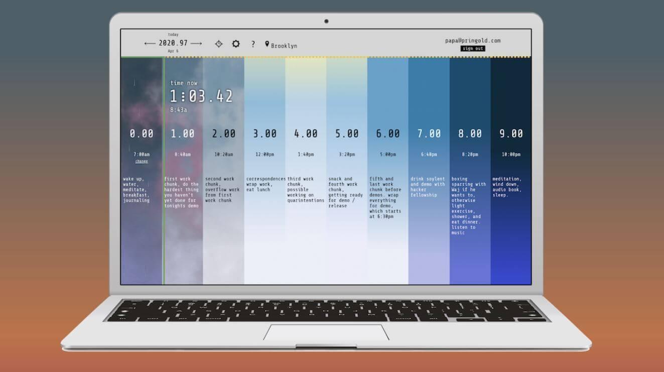 newDay Planner: Cambia tu forma de usar el tiempo con esta interesante herramienta