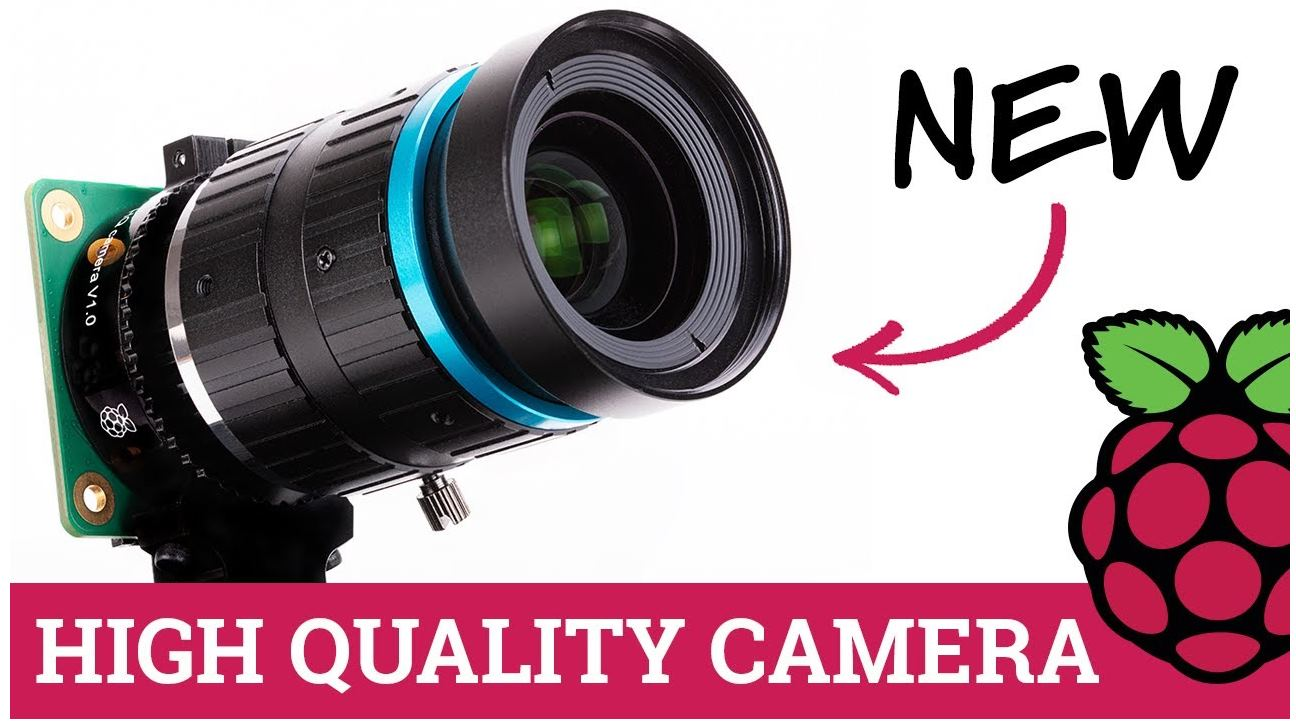 Raspberry Pi presenta una cámara de fotos integrada en su sistema