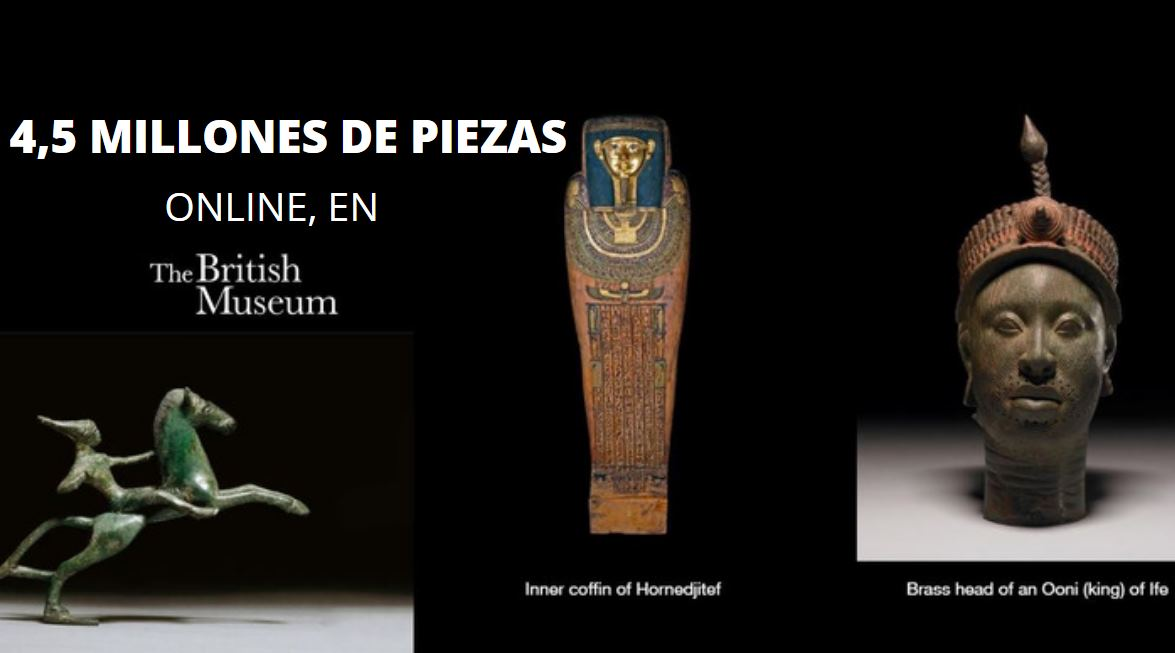 El British Museum pone ya casi 5 millones de objetos en la web