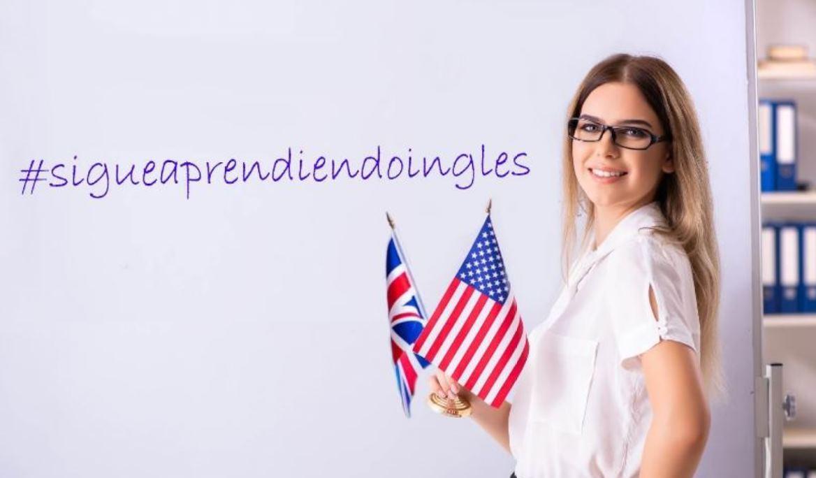 Una bonita iniciativa para que los estudiantes sigan aprendiendo inglés