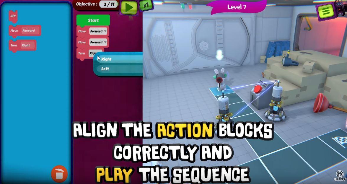Ubisoft ofrece gratis un juego para aprender a programar