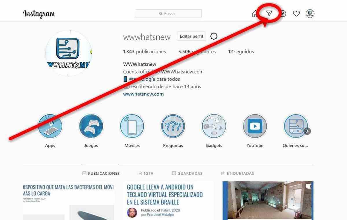 Los Mensajes Directos de Instagram en la web ya están disponibles para todos