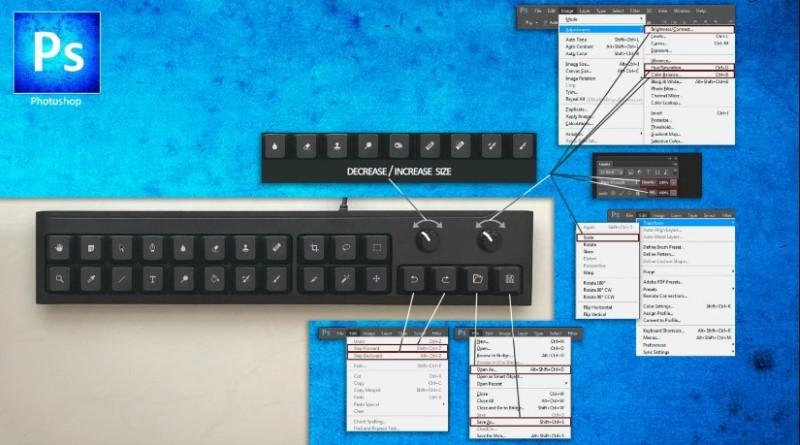 teclado photoshop