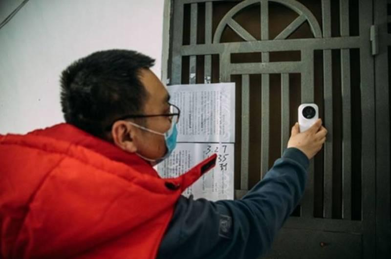 china usa camaras xiaomi para monitorear cuarentena