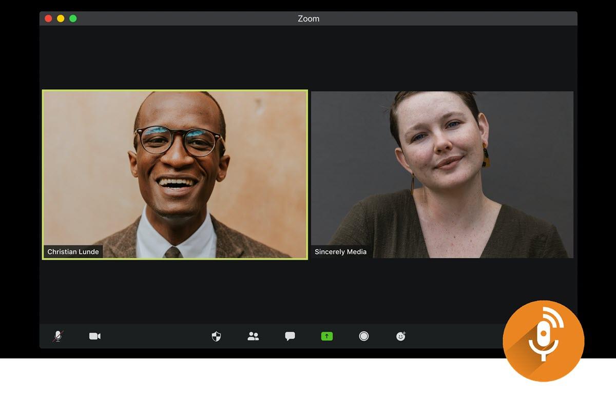 Así puedes crear un podcast con tus videollamadas grupales