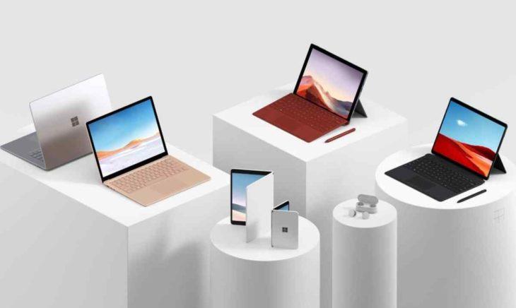 Dispositivos Surface