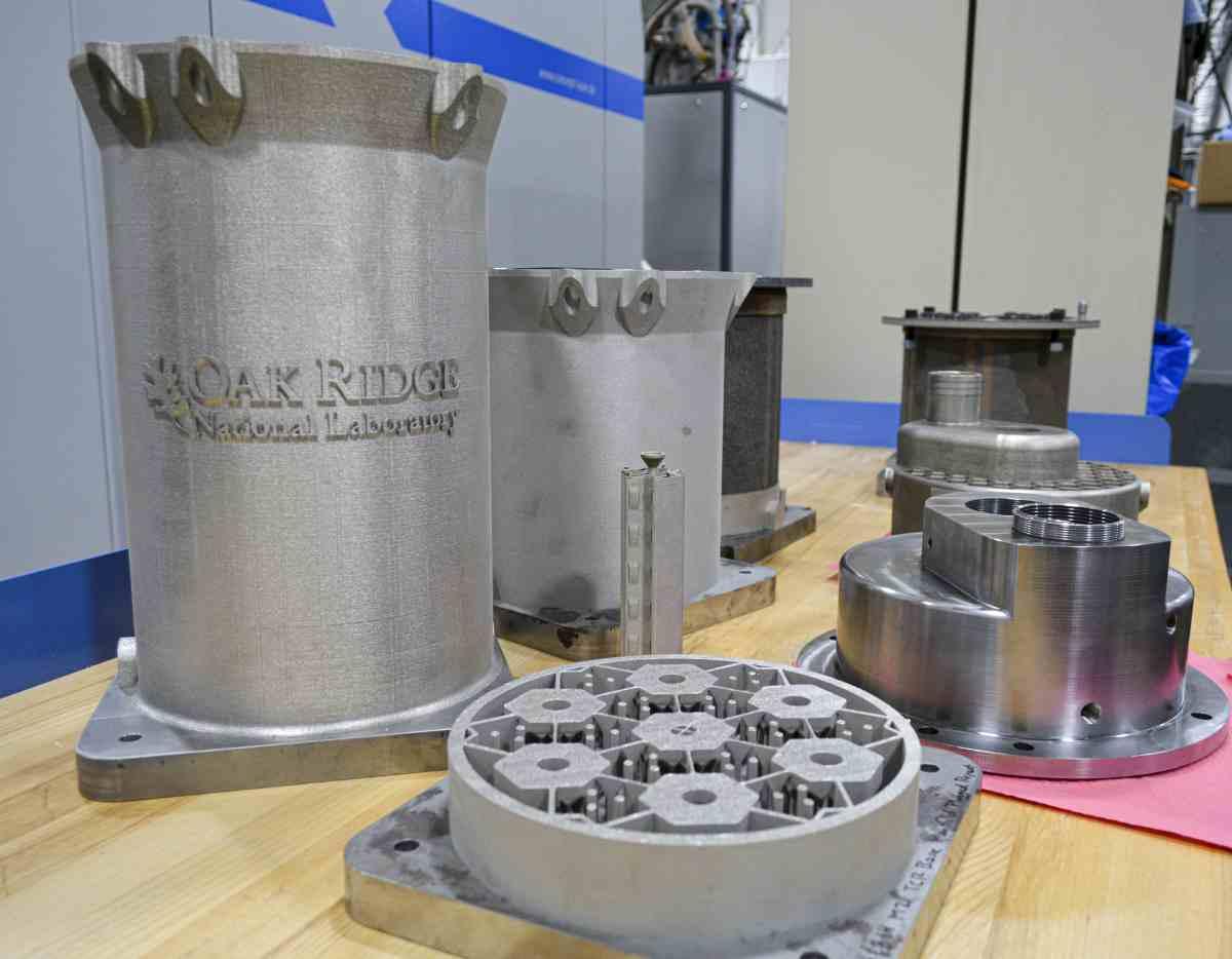 Ingenieros imprimirán el núcleo de un reactor nuclear en 3D