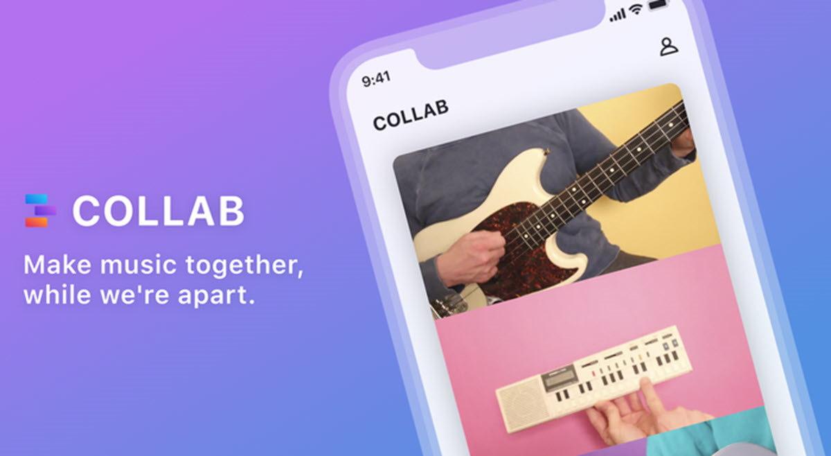 Facebook  lanza una app para crear vídeos musicales colaborativos