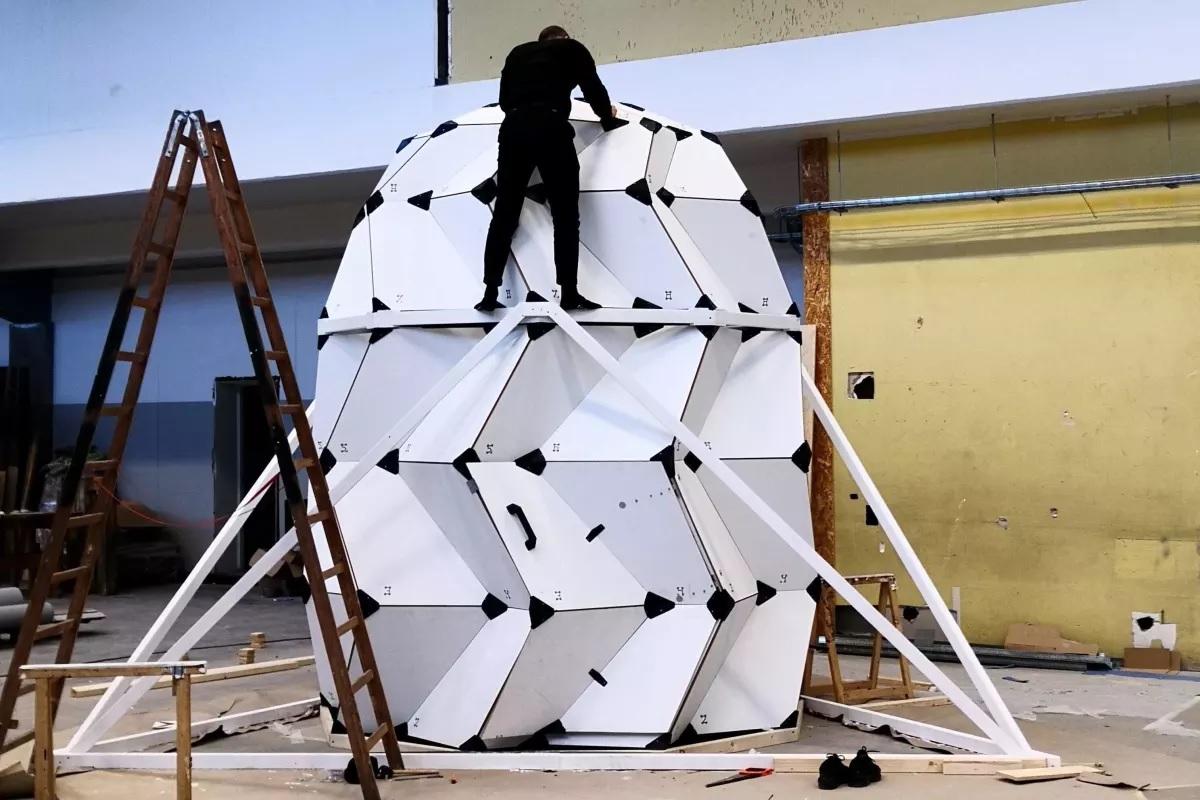 Desarrollan hábitat lunar expandible basados en el concepto del origami