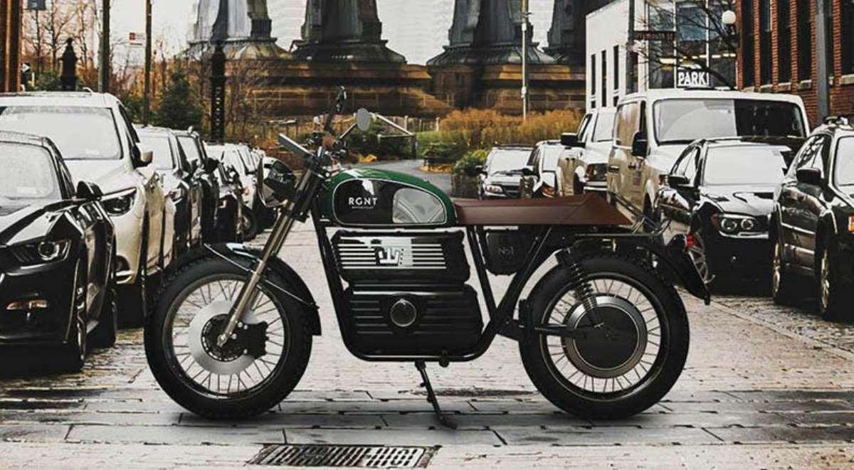 Experimenta lo retro viajando en dos ruedas con la motocicleta eléctrica RGNT NO. 1