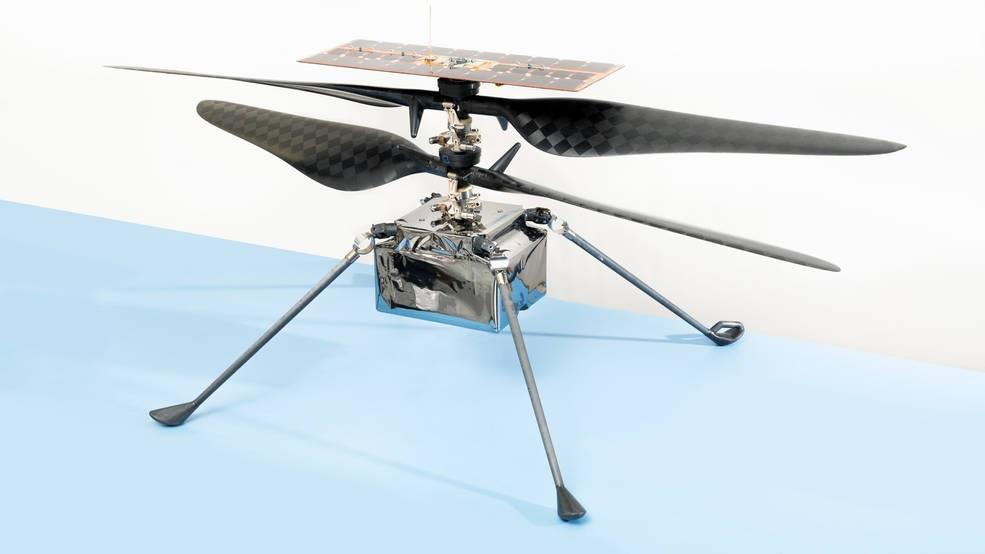 Ingenuity dron a Marte