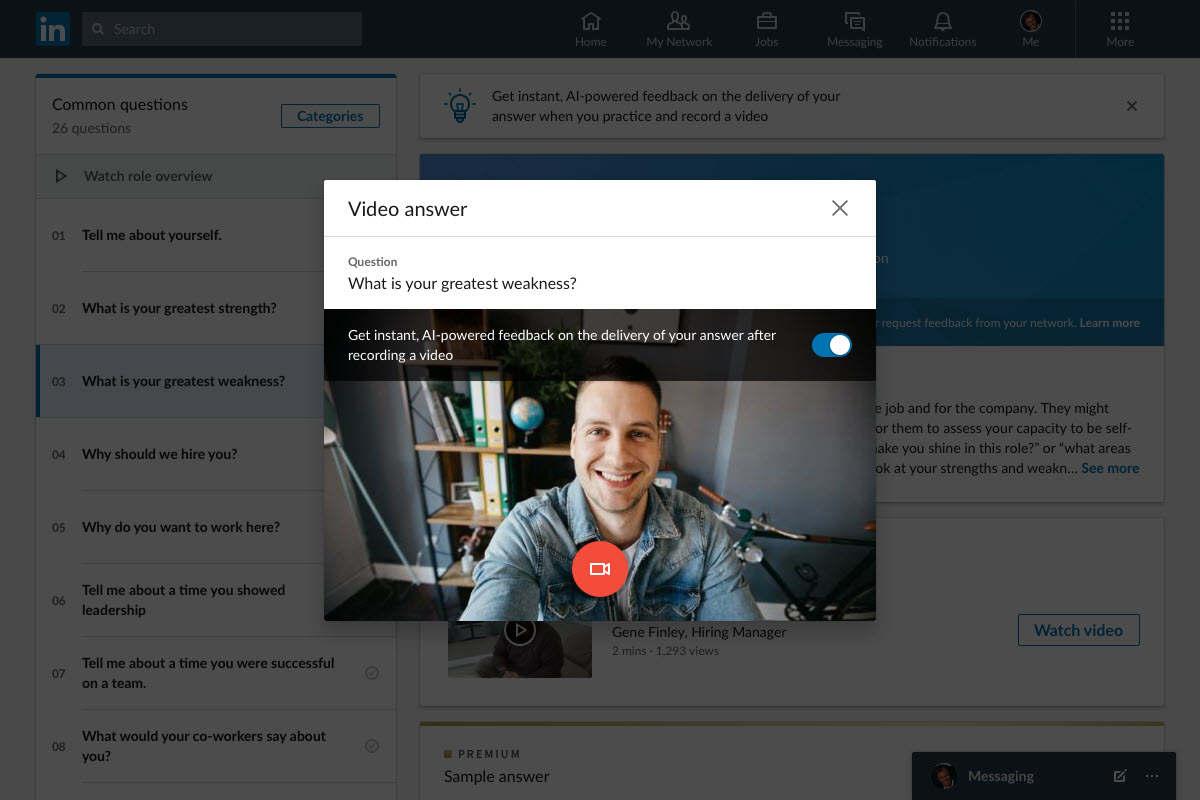 LinkedIn te ayudará a prepararte para las entrevistas de trabajo