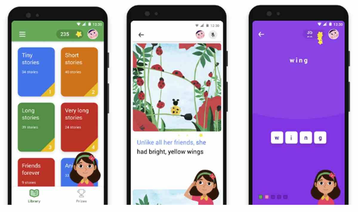 Google expande su aplicación de aprendizaje a la lectura para niños