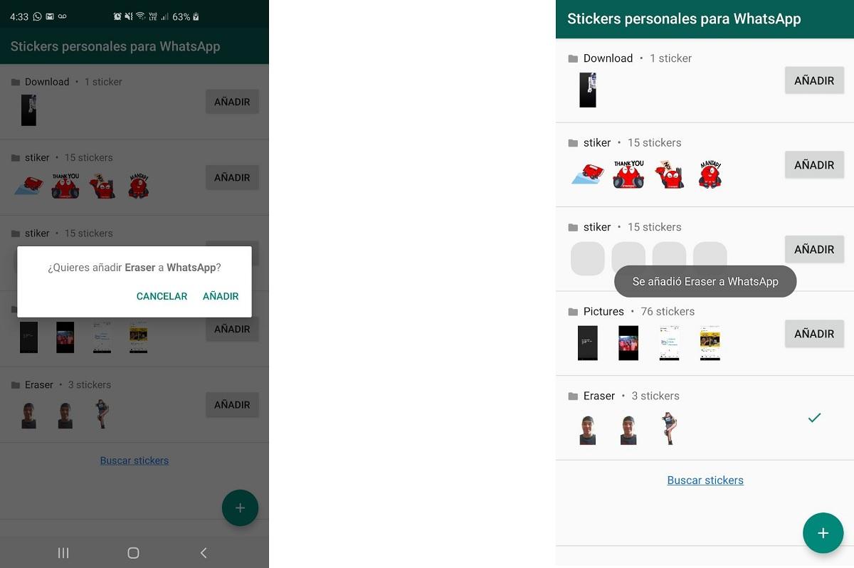 Segundo paso para crear Sticker en WhatsApp
