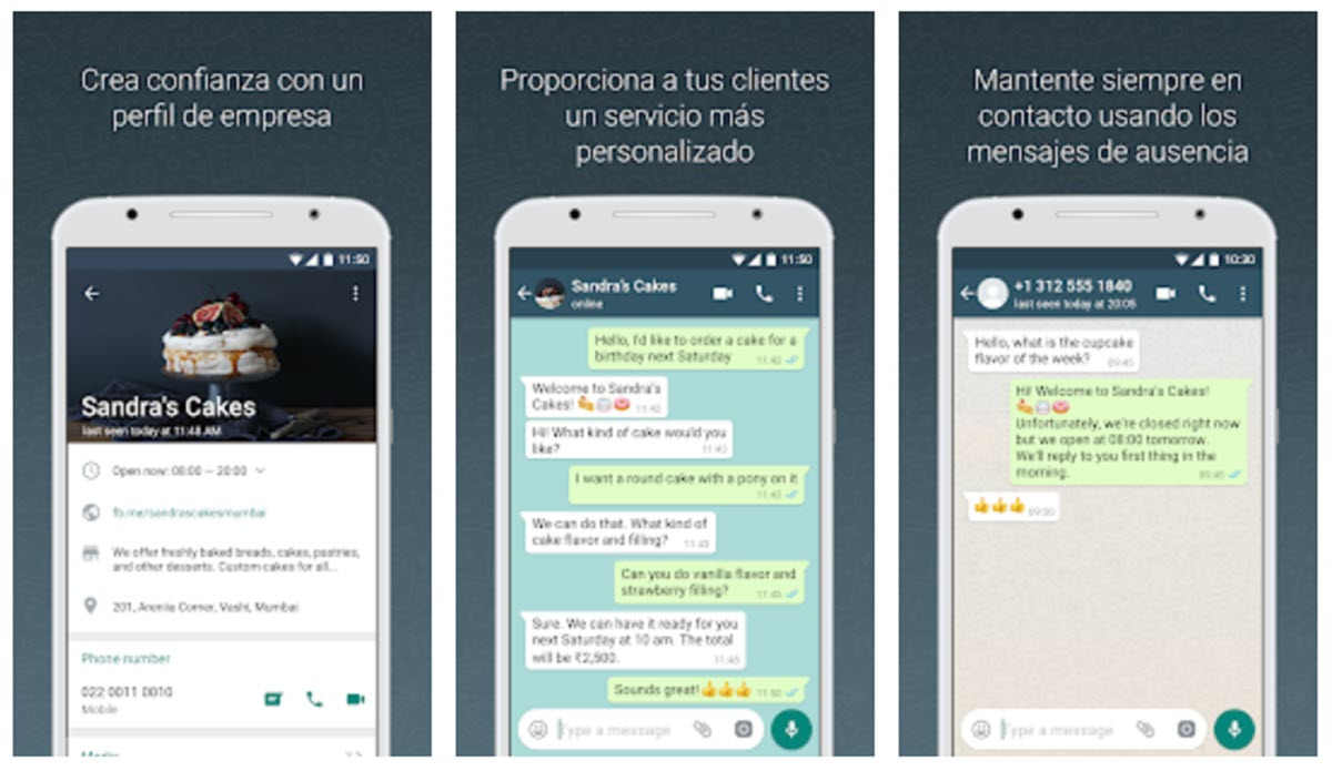 WhatsApp Business ya permite sincronizar datos de empresa desde la página de Facebook