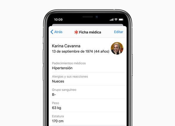 App Salud iOS