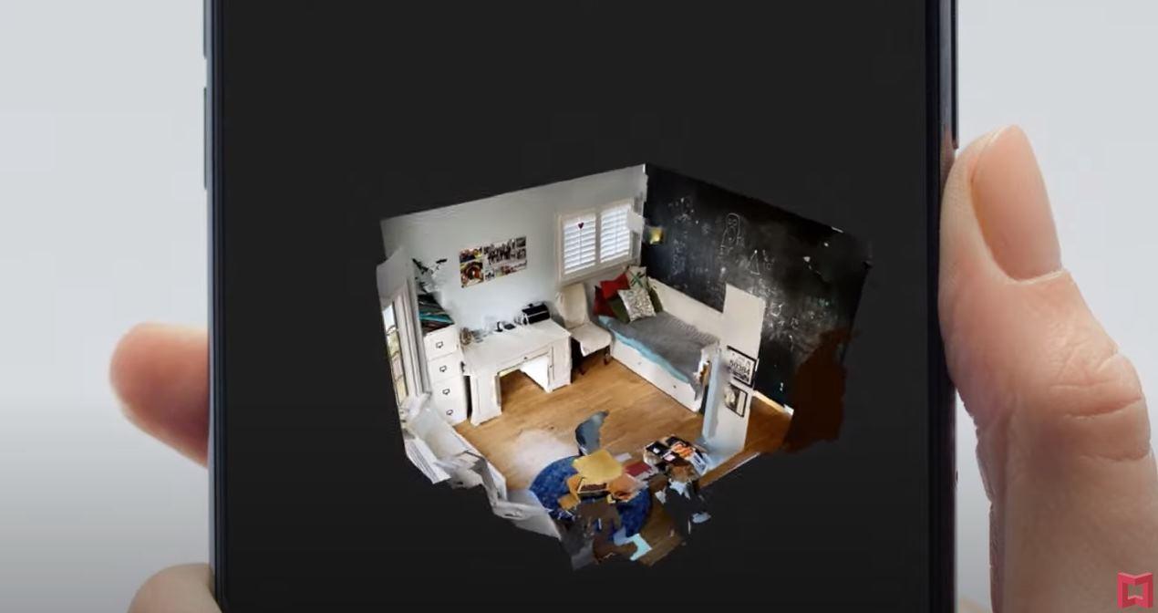Matterport, para capturar en 3D la habitación en la que nos encontramos