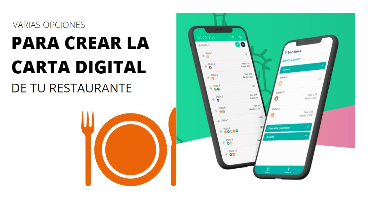 carta digital restaurante