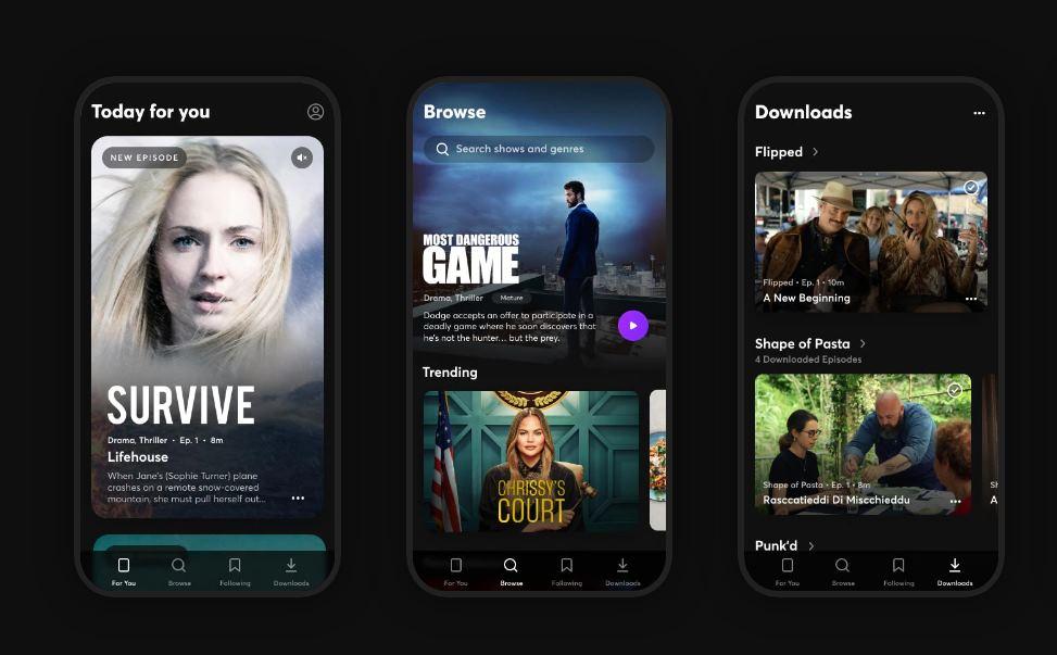 Quibi permitirá llevar sus contenidos a los televisores, comenzando en iOS