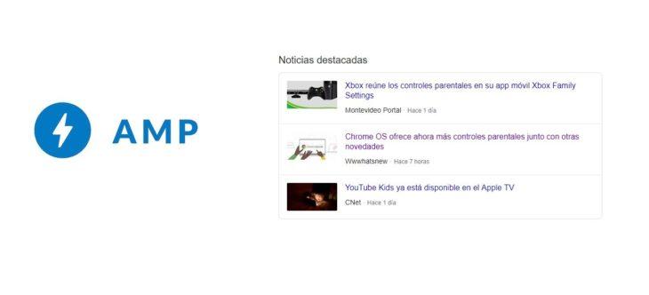 noticias AMP