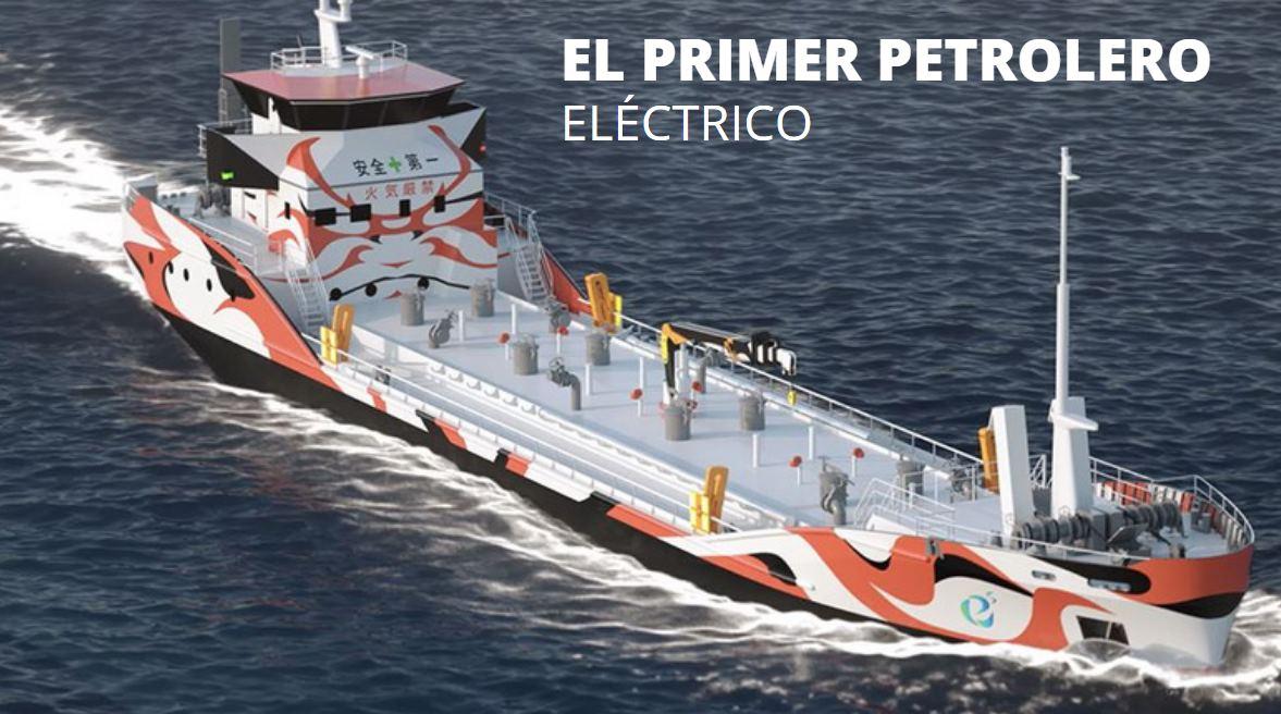 Japón construirá primer buque petrolero movido por energía eléctrica