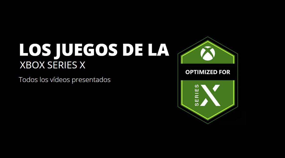 Así se verán los nuevos juegos de la Xbox Series X