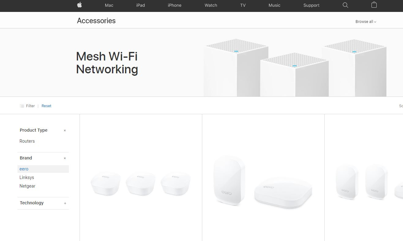 Apple y Amazon se asocian para vender el router Eero