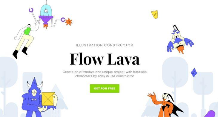 flow lava