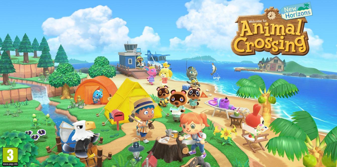 Animal Crossing: New Horizons, el juego más vendido de Nintendo en su primer mes de lanzamiento