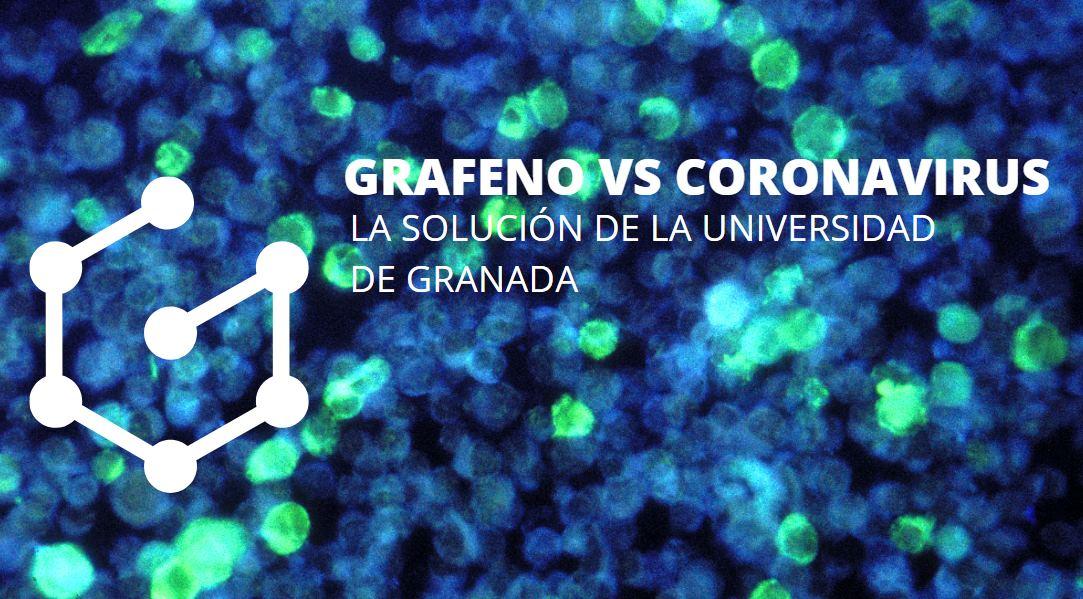 Usando el grafeno para detectar el coronavirus