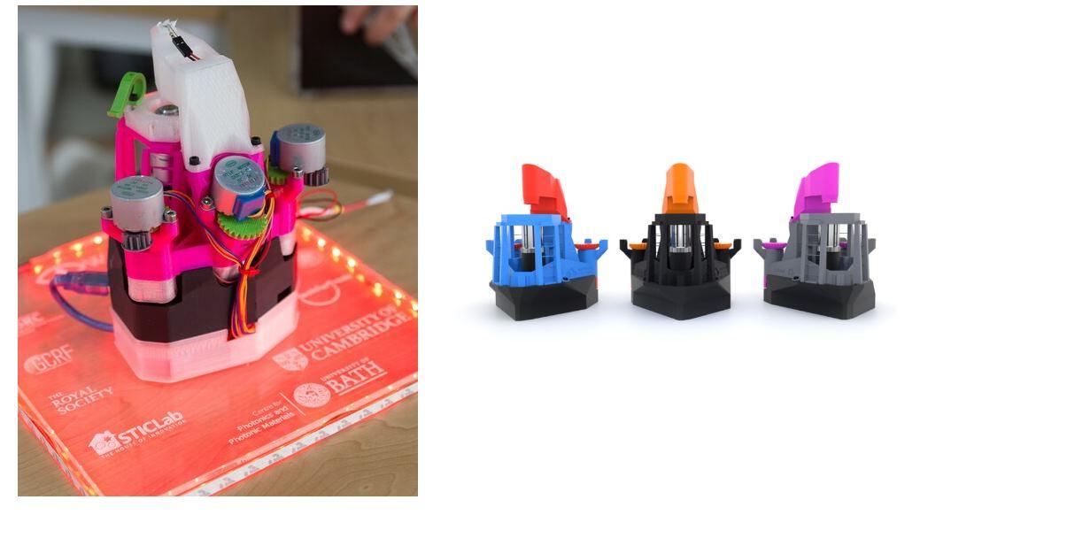Un microscopio de laboratorio fabricado en impresión 3D por menos de 20 euros