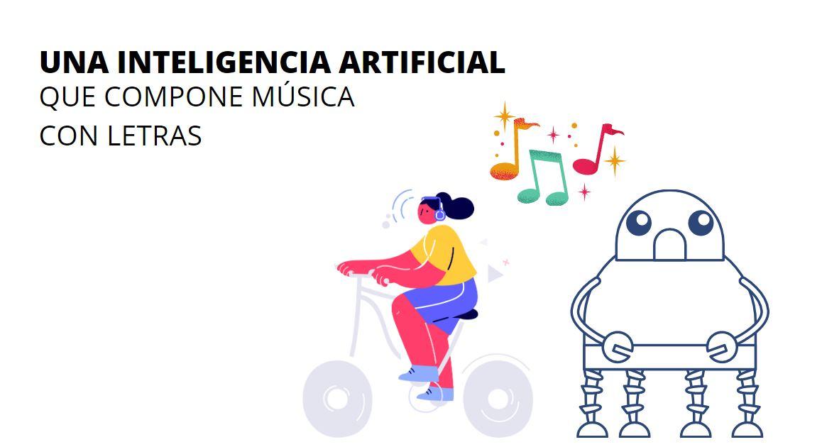 Una Inteligencia artificial que compone y canta canciones de diversos estilos