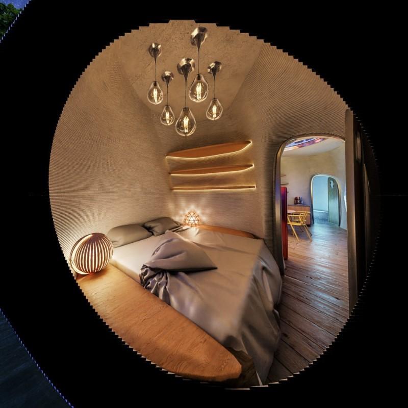 interior casa flotante 3d