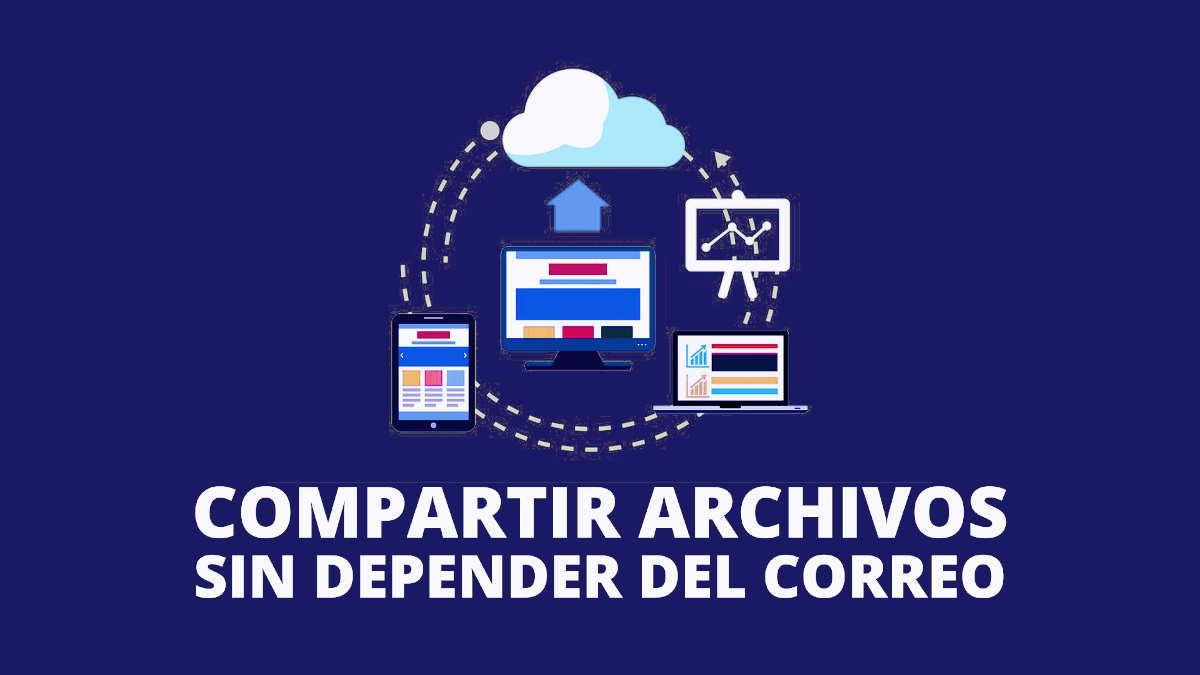 Compartir archivos sin depender del correo