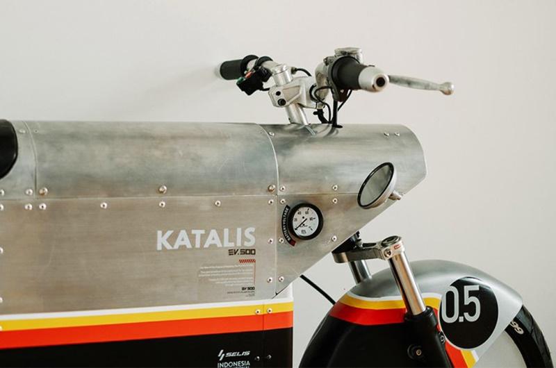manubrio moto electrica katalis