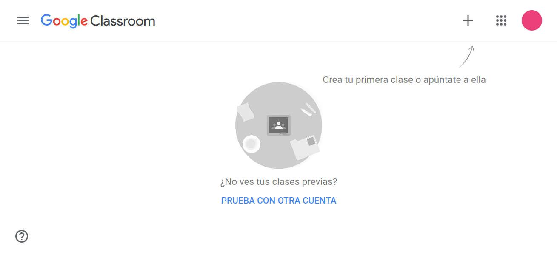 Primeros pasos en Google Classroom